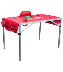 Tailgate Table With Cooler