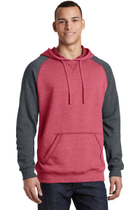 District® Lightweight Fleece Raglan Hoodie