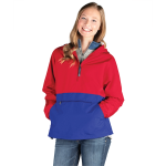 Adult Color Blocked Pack-N-Go® Pullover